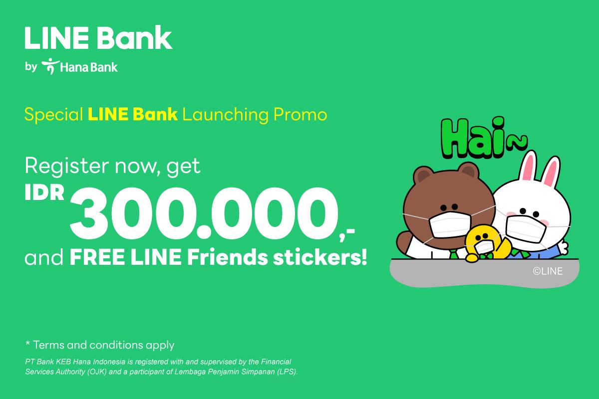 Register and Get Cashback IDR300.000