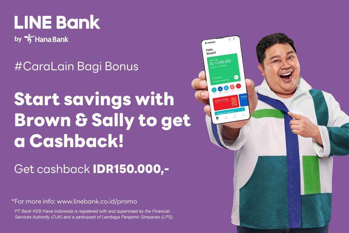 Open Saving Account & Get a Cashback IDR150.000